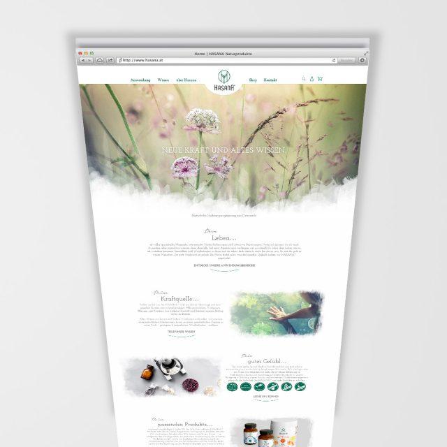 Hasana Website Landingpage