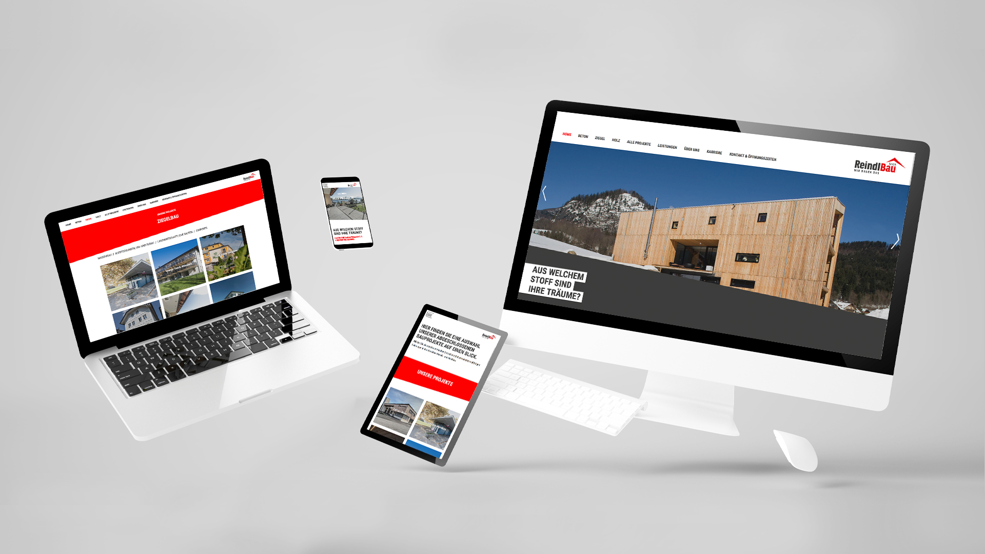 Reindl Bau Website Overview
