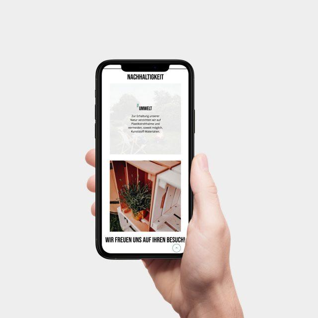 Parkhotel Brunauer Website Ansicht Handy
