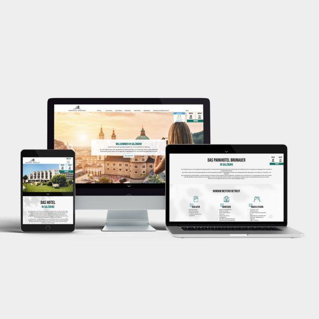 Parkhotel Brunauer Website Ansicht Responsive