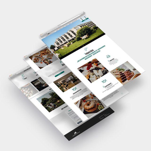 Parkhotel Brunauer Website Ansicht Tabs